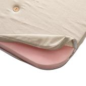 Legemadras til Wood halvhøj seng