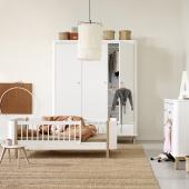 Wood Mini+ basic, hvid/eg (0-9 år)