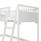 Seaside halvhøj seng