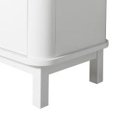 Wood multiskab 3 døre, hvid