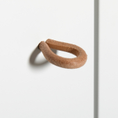 Wood puslekommode, 6 skuffer m. stor pusleplade, hvid/eg