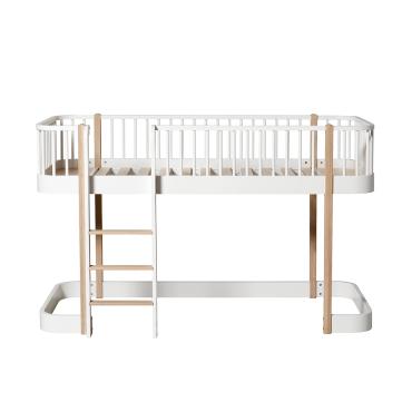 Wood halvhøj seng