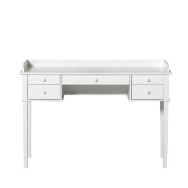 Skrivebord – hvid