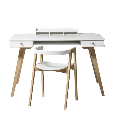 Wood skrivebord 72,6 cm & armstol