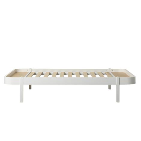 Wood Lounger 120, hvid