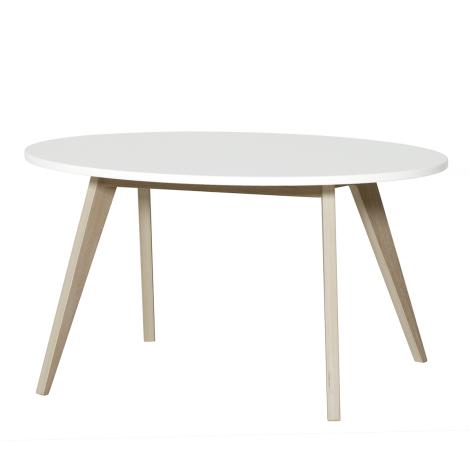 PingPong bord, hvid/eg