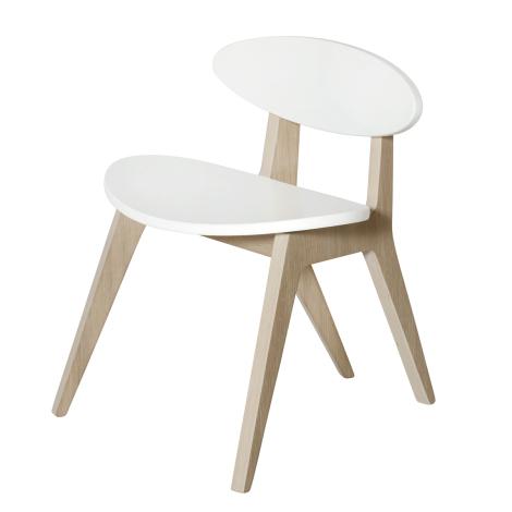 PingPong stol, hvid/eg